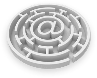 email-maze